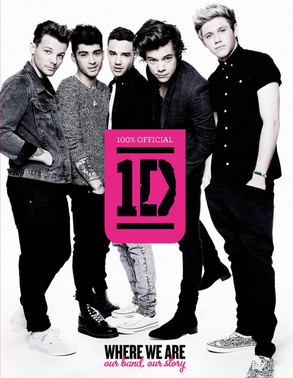 One Direction, Where We Are Book