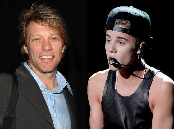 Jon Bon Jovi, Justin Bieber