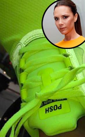 Victoria Beckham, Sneakers