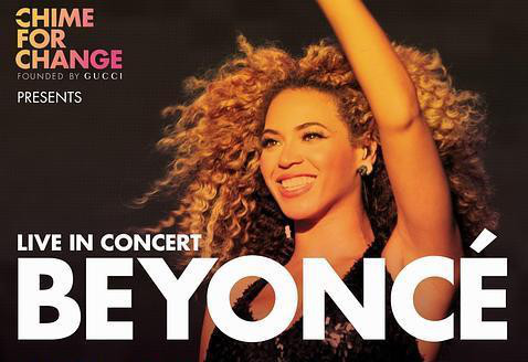 Beyonce, Sound of Change Live