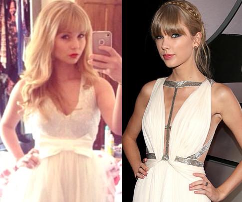 Taylor Swift e sosia