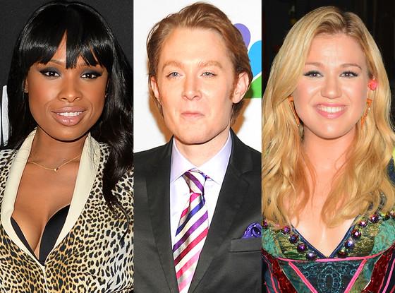 Jennifer Hudson, Clay Aiken, Kelly Clarkson