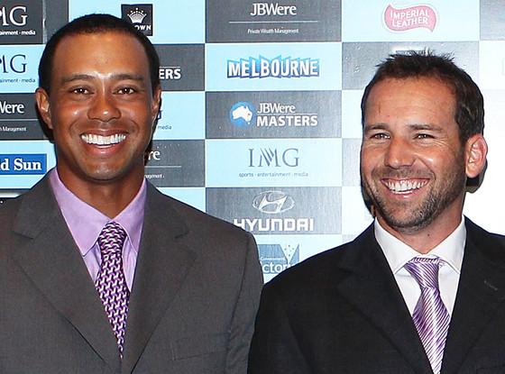 Tiger Woods, Sergio Garcia
