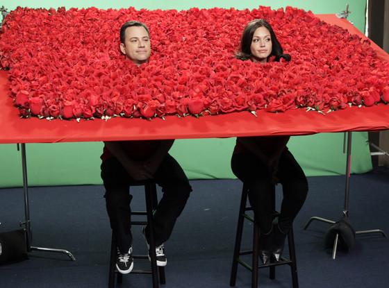 Jimmy Kimmel, Bachelorette Desiree Hartsock