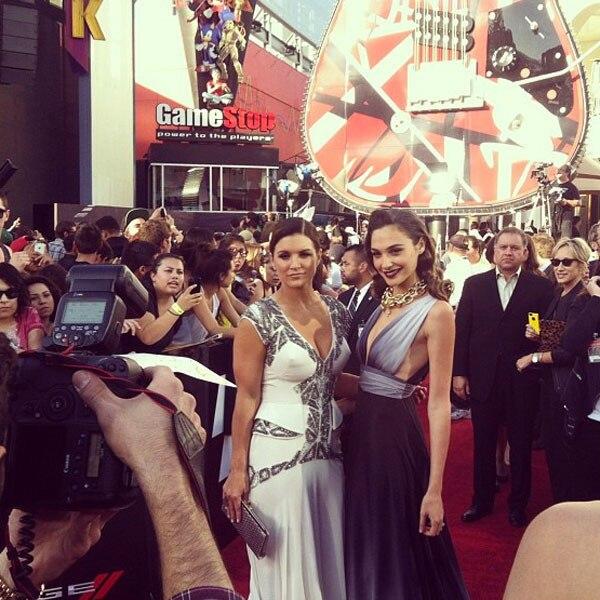 Gina Carano, Gal Gadot, Malkin Instagram