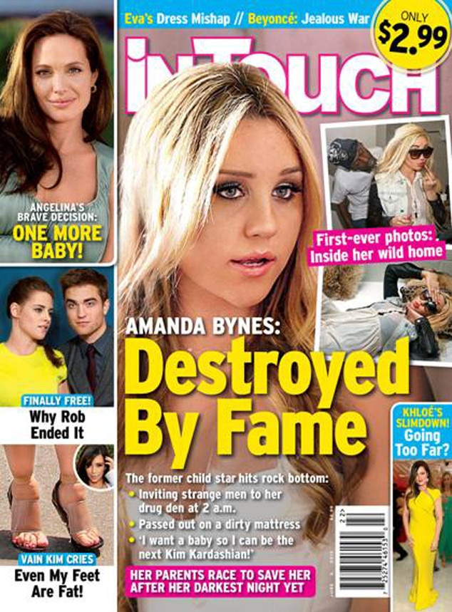 Amanda Bynes, InTouch Cover