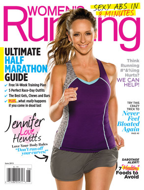 Women's Running Magazine, Jennifer Love Hewitt