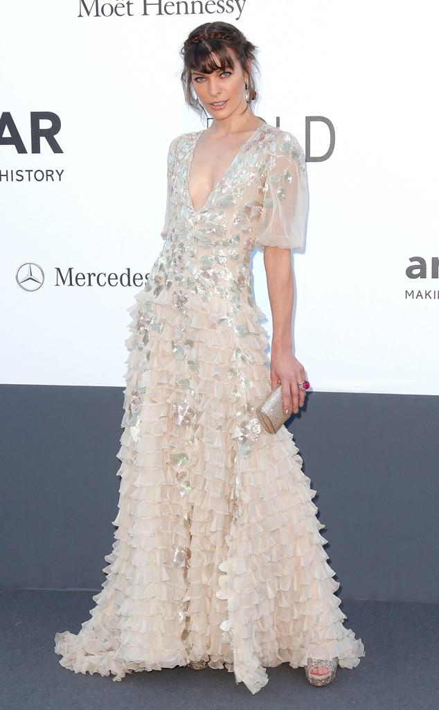 Milla Jovovich, amfAR