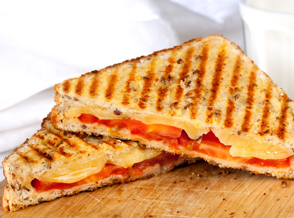 Grilled Cheese, Tomato, Hangover Food