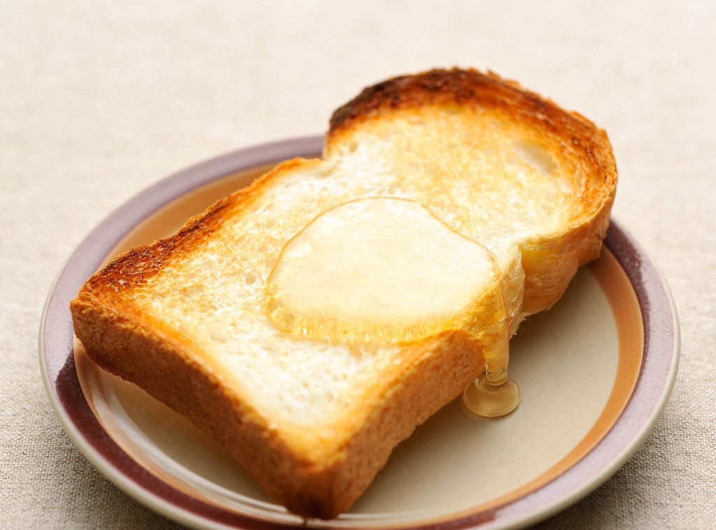 Toast with Honey, Hangover Food