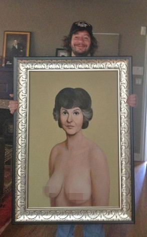 Jeffrey Ross, Bea Arthur Painting