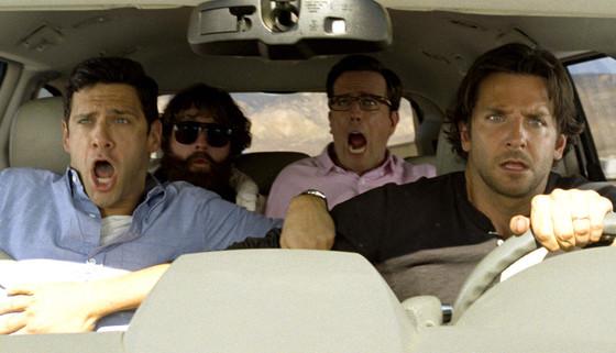 The Hangover: Part III, Zach Galifianakis, Bradley Cooper, Ed Helms, Justin Bartha