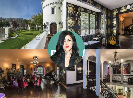 Kat Von D Selling Gothic Hollywood Hills Home E News