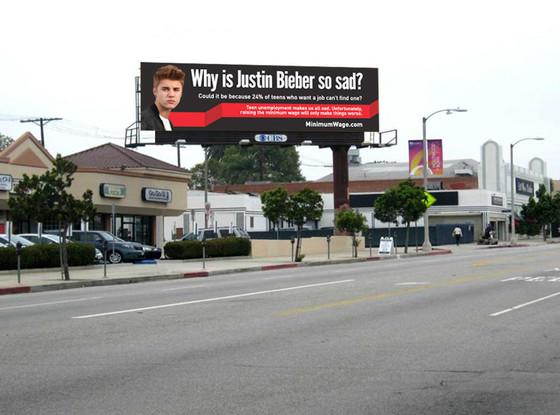 Justin Bieber Billboard