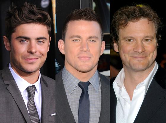 Zac Efron, Channing Tatum, Colin Firth
