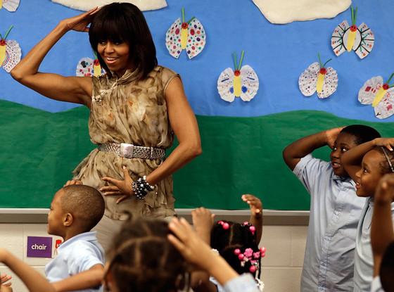 Michelle Obama, Dancing