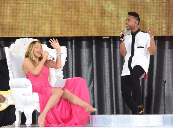 Mariah Carey, Miguel, Good Morning America