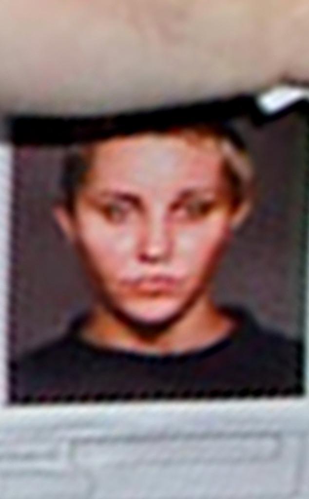 Amanda Bynes, Mugshot