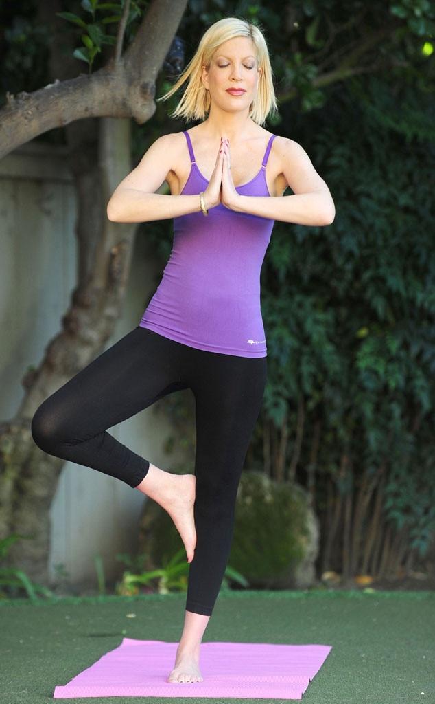 Tori Spelling, Yoga