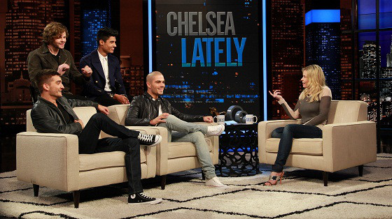The Wanted, Chelsea Lately