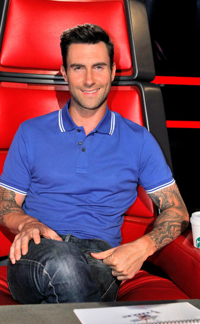 Adam Levine, The Voice