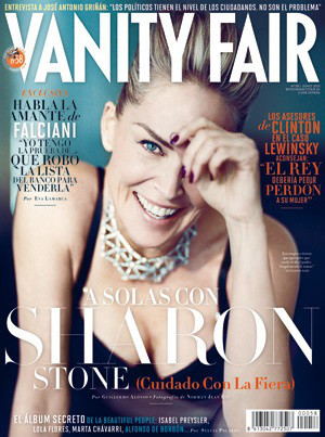 Sharon Stone, Vanity Fair España