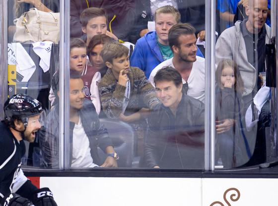 David Beckham, Victoria Beckham, Tom Cruise