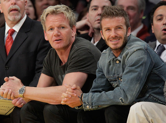 david beckham will not be opening a restaurant with gordon ramsay despite reports e news. Black Bedroom Furniture Sets. Home Design Ideas
