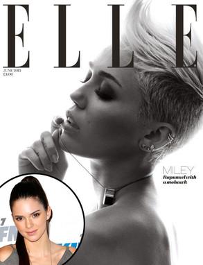 Kendall Jenner, Miley Cyrus, Elle