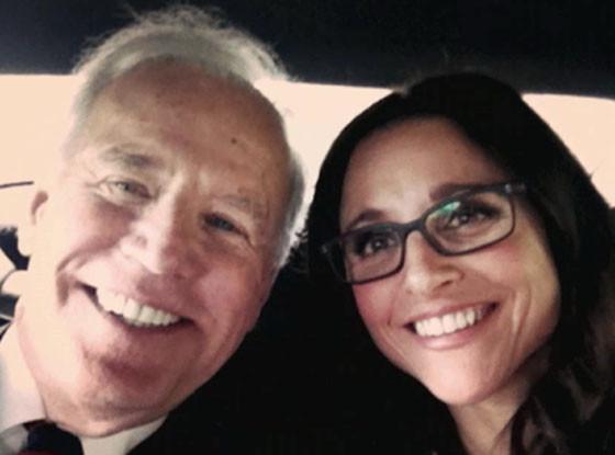 Julia Louis-Dreyfus, Joe Biden