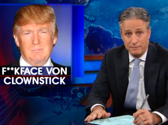 Jon Stewart, The Daily Show, Clownstick