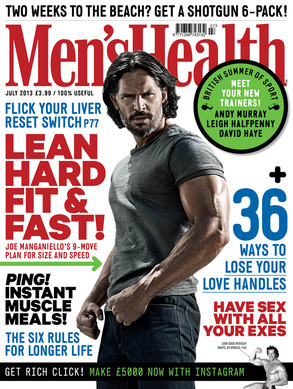 Joe Manganiello, Men's Health UK