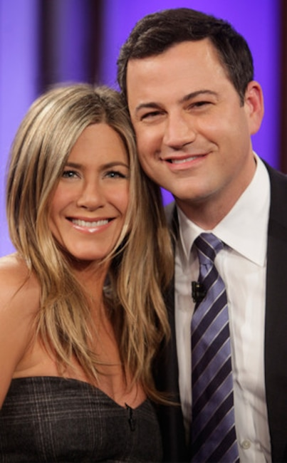 Jennifer Aniston, Jimmy Kimmel