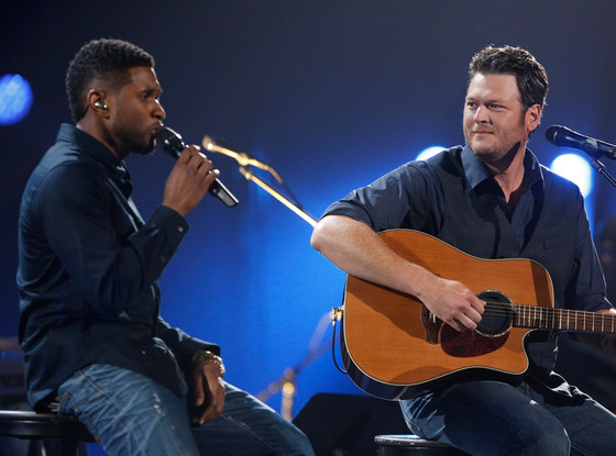 Usher, Blake Shelton, Healing in the Heartland