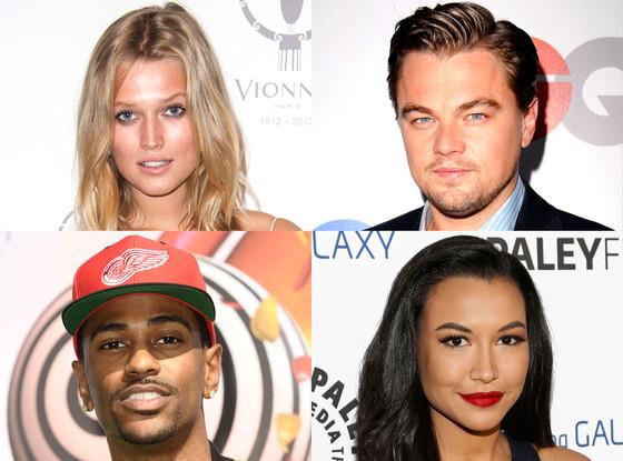 Toni Garrn, Leonardo DiCaprio, Naya Rivera, Big Sean