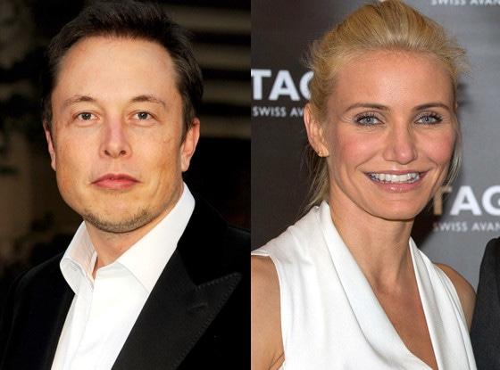 Elon Musk, Cameron Diaz