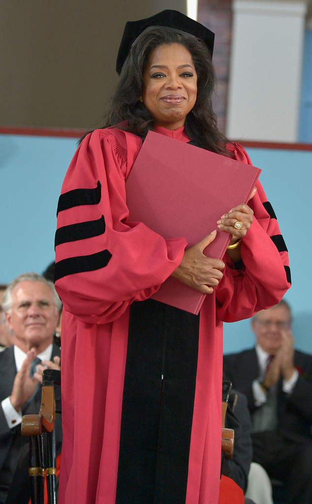 Oprah Winfrey, Honorary Degree