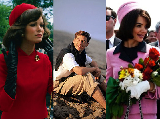 Jaclyn Smith, Patrick Dempsey, Katie Holmes, Kennedys