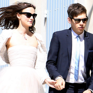 Keira Knightley, James Brighton, Wedding