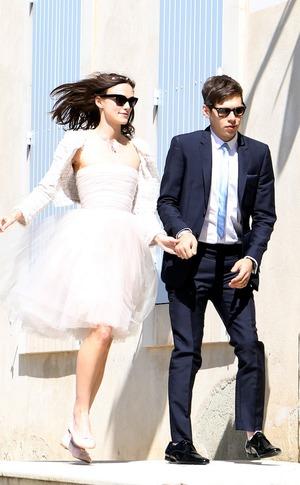 Keira Knightley, James Brighton, Wedding