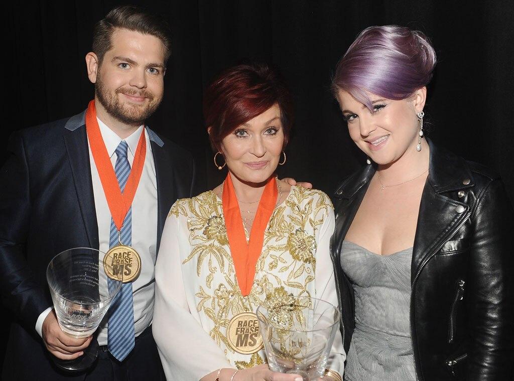Kelly Osbourne, Sharon Osbourne, Jack Osbourne, Race To Erase MS Gala
