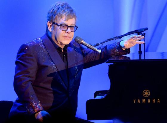 Elton John, Race to Erase MS Gala