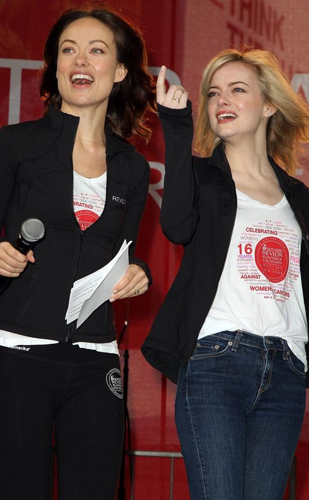 Olivia Wilde, Emma Stone