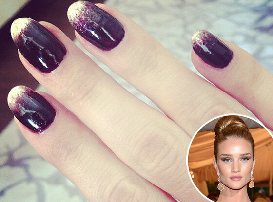 Rosie Huntington-Whiteley, MET Gala, Manicure