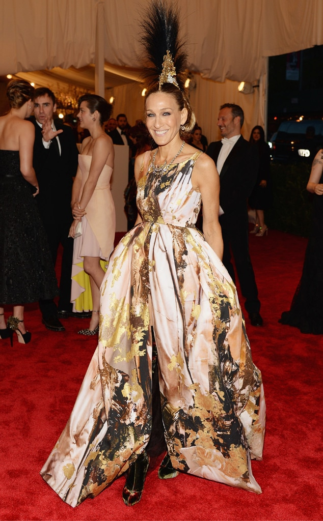 Sarah Jessica Parker from Best Dressed at the 2013 Met ...