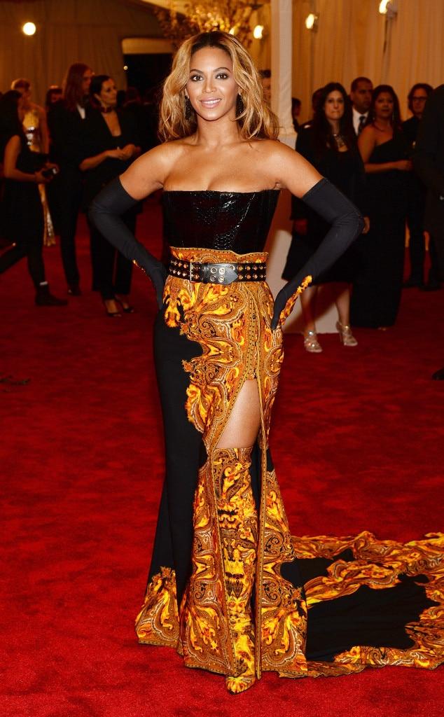 Beyonce, MET Gala, 2013