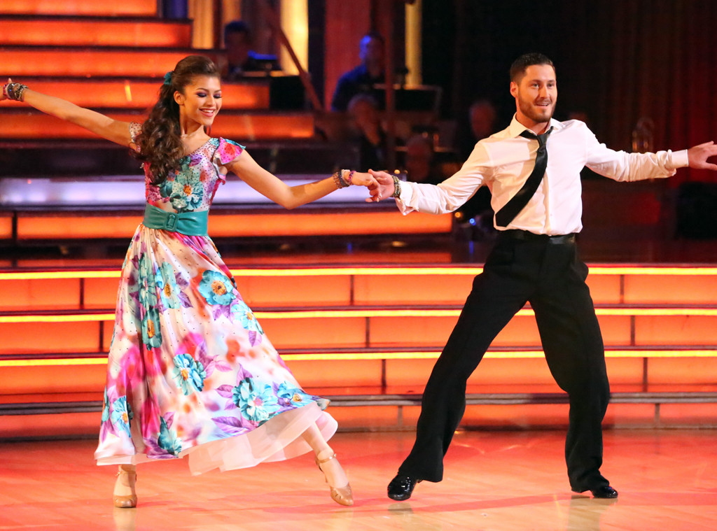 Zendaya, Val Chmerkovskiy, Dancing with the Stars