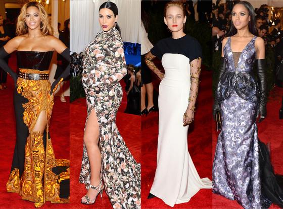 Beyonce, Kim Kardashian, Leelee Sobieski, Kerry Washington, MET Gala, Gloves