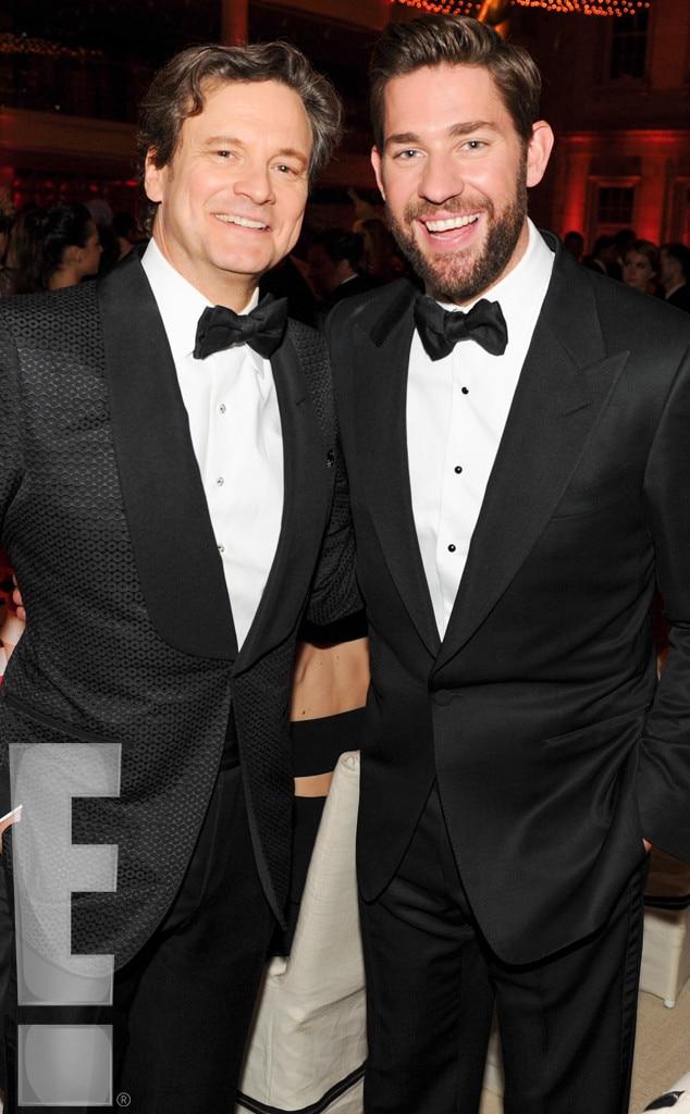 Colin Firth, John Krasinski, MET Gala