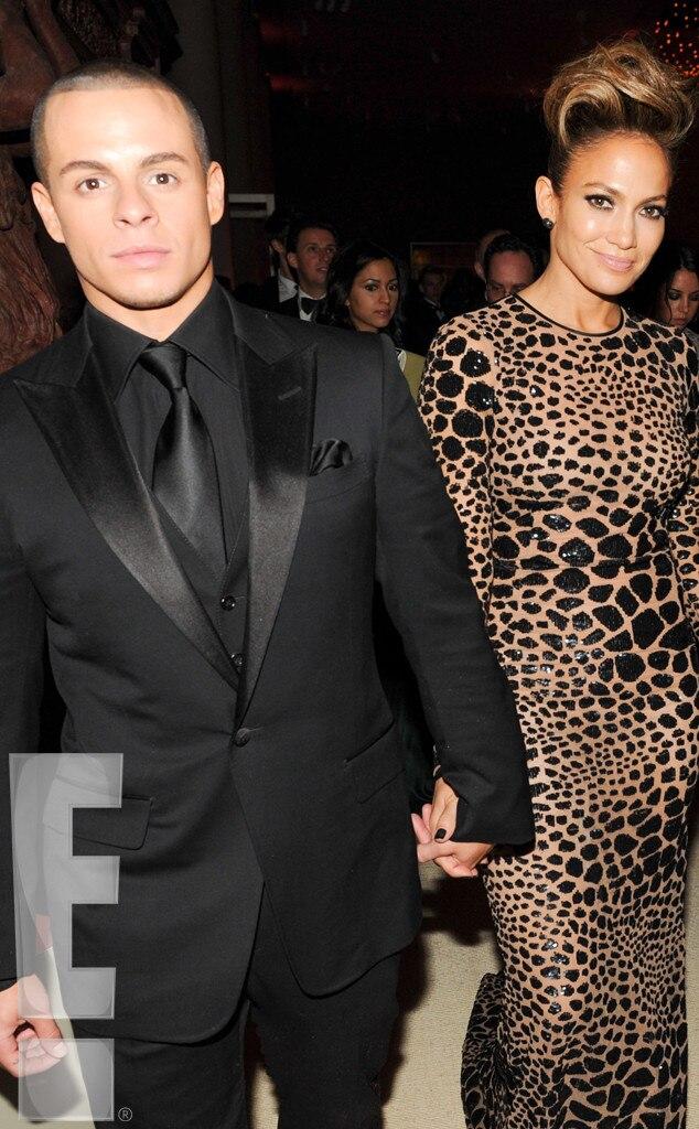 Casper Smart, Jennifer Lopez, MET Gala